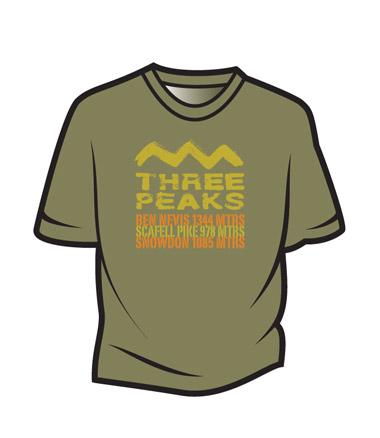 khaki-3-peaks-t-shirt