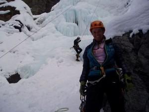 cogne italy ice climb