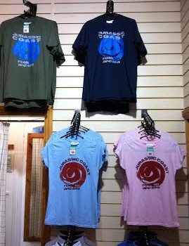 The Jurassic Coast T shirts