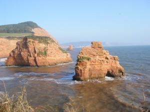 jurassic coast walk East Devon