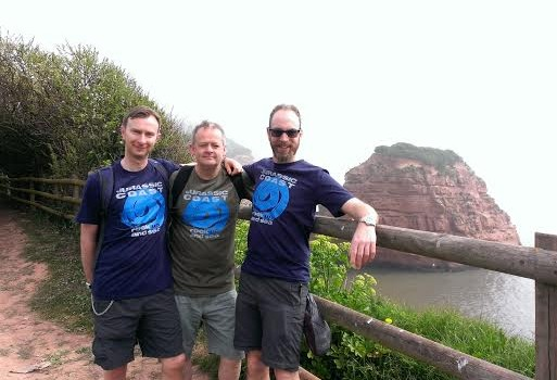 The famous Jurassic Coast walk