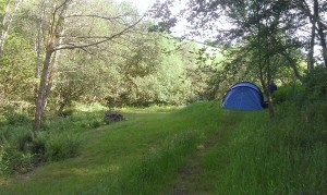 camping steamcombe farm exmoor
