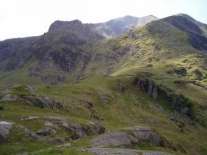 Hanging valley - Cwm llyd