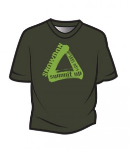 Dark-Green-Snowdon-T-Shirt