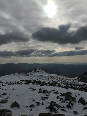 summit scafell