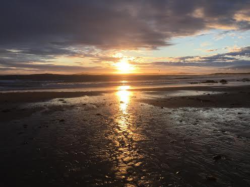 sunset rhosneigr