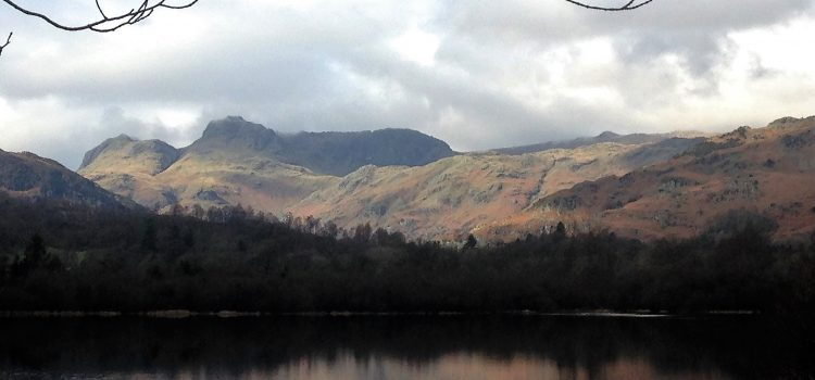 A six mile circular walk around Elterwater, Lake District.