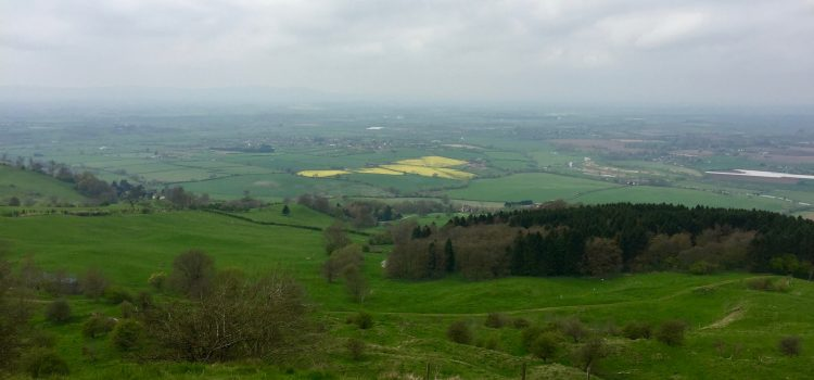 A circular walk to Bredon Hill