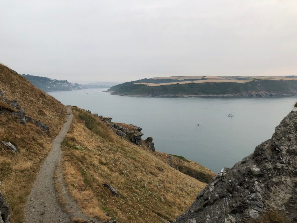 towards salcombe