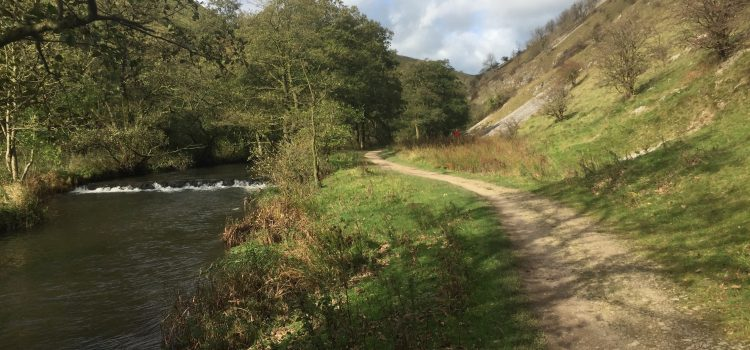 A lovely, varied circular walk from Alstonefield, taking in  the river Dove and Narrowdale Hill
