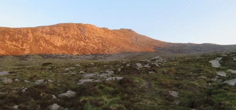 Mid-summer Sunrise walk to the Summit of Goat Fell, Isle of Arran