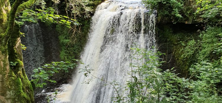 Hawes to Aysgill Force Waterfalls, Wensleydale, North Yorkshire