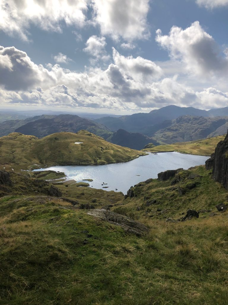Stickle Tarn and Easy Gully